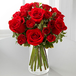 The Red Romance™ Rose Bouquet